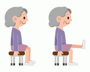 Упражнение со стулом