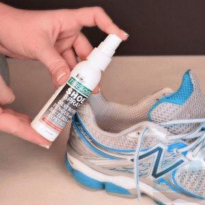 Антисептическое средство для обуви