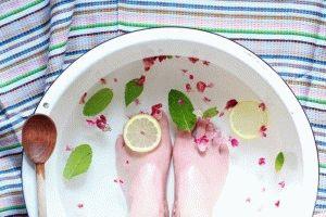 Травяные ванночки для ногТравяные ванночки для ног
