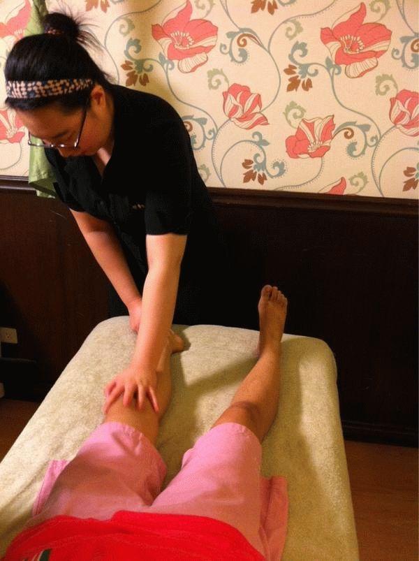 Массаж похудения ног дома