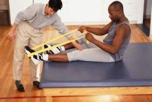 Лечебные упражнения для ног
