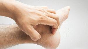 Сыпь и зуд ног