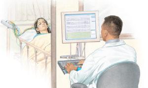 Диагностика судорог пациента