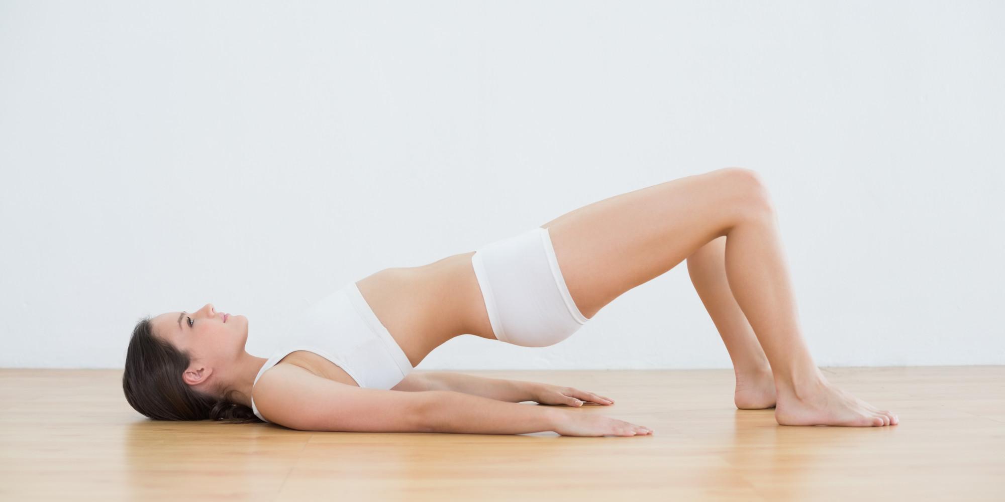 Упражнения для ног и ягодиц: качаем одновременно группу мышц Махи Ногами Назад