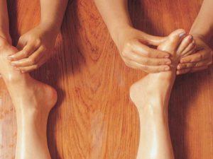 Аюрведический массаж ног