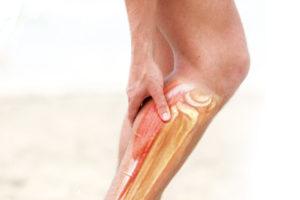 Судорога в ноге у пациента