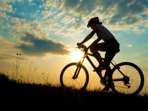 Велопрогулки полезны для ног