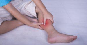 Судорога в ноге