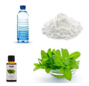 Ингредиенты для домашнего дезодоранта