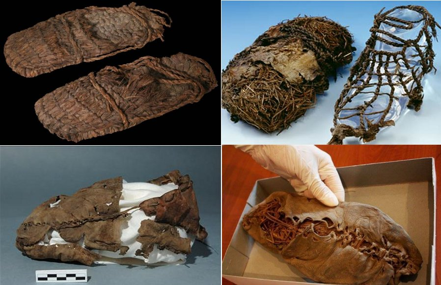 Находки древнейшей обуви