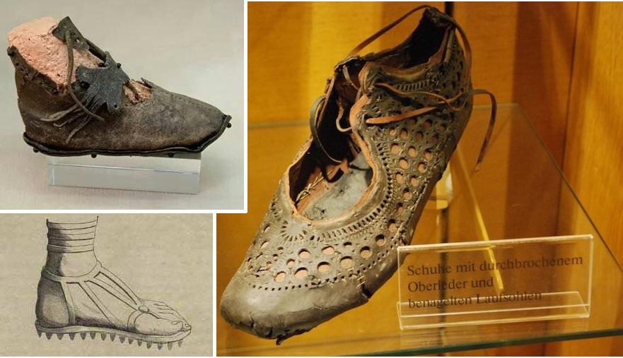 Древняя обувь римлян