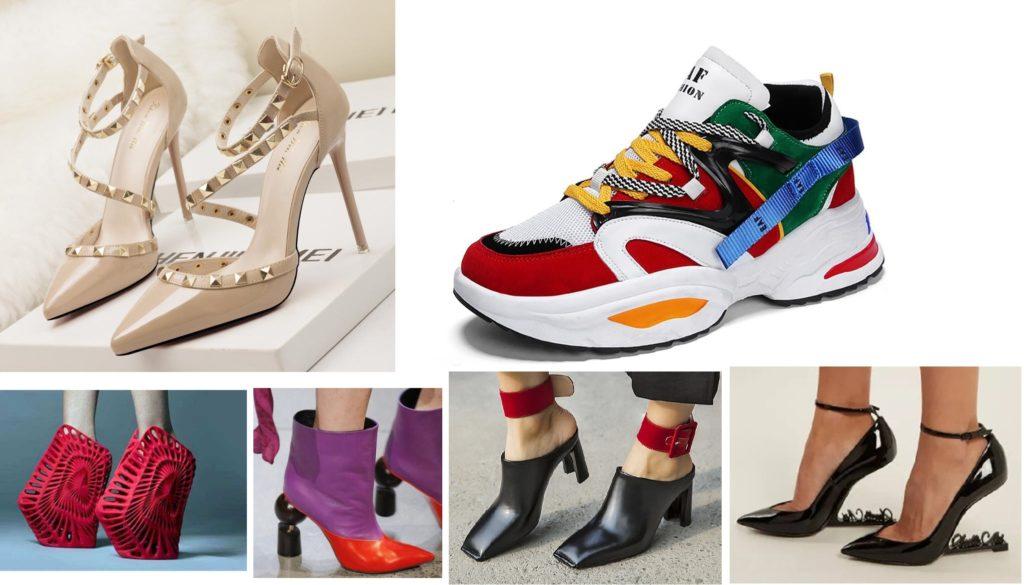 Современная женская обувь