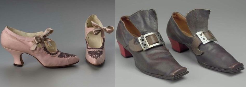 Модные туфли 20 века
