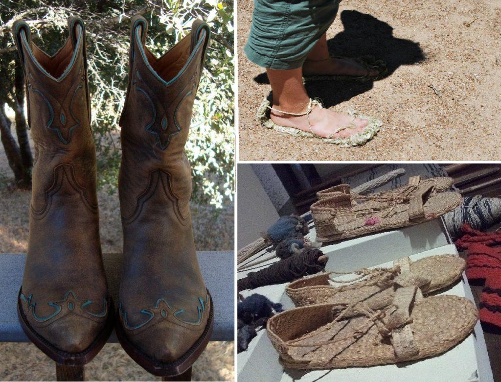 Обувь древних мексиканцев